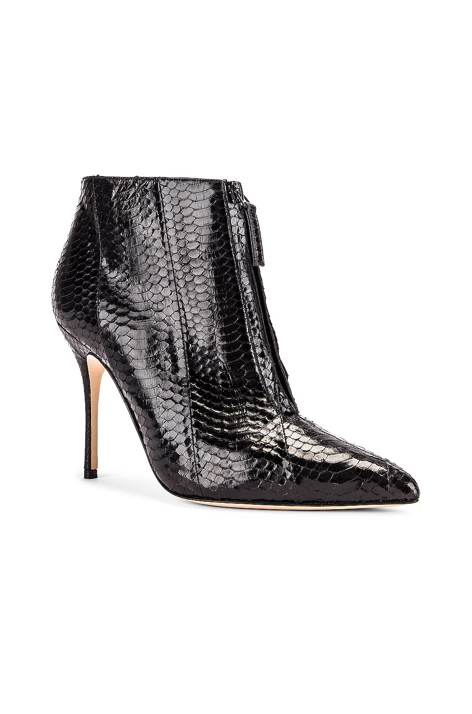 Image 2 of Manolo Blahnik Ifima 105 Bootie in Black Snake