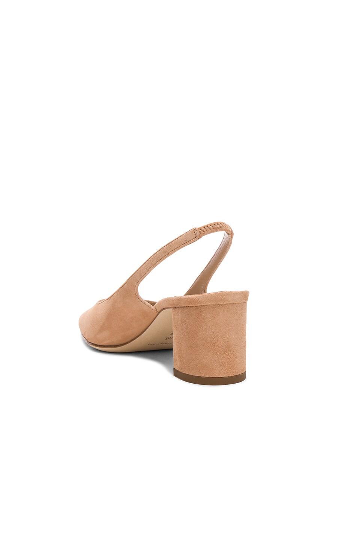 Image 3 of Manolo Blahnik Suede Allurasa 50 Heels in Beige Suede