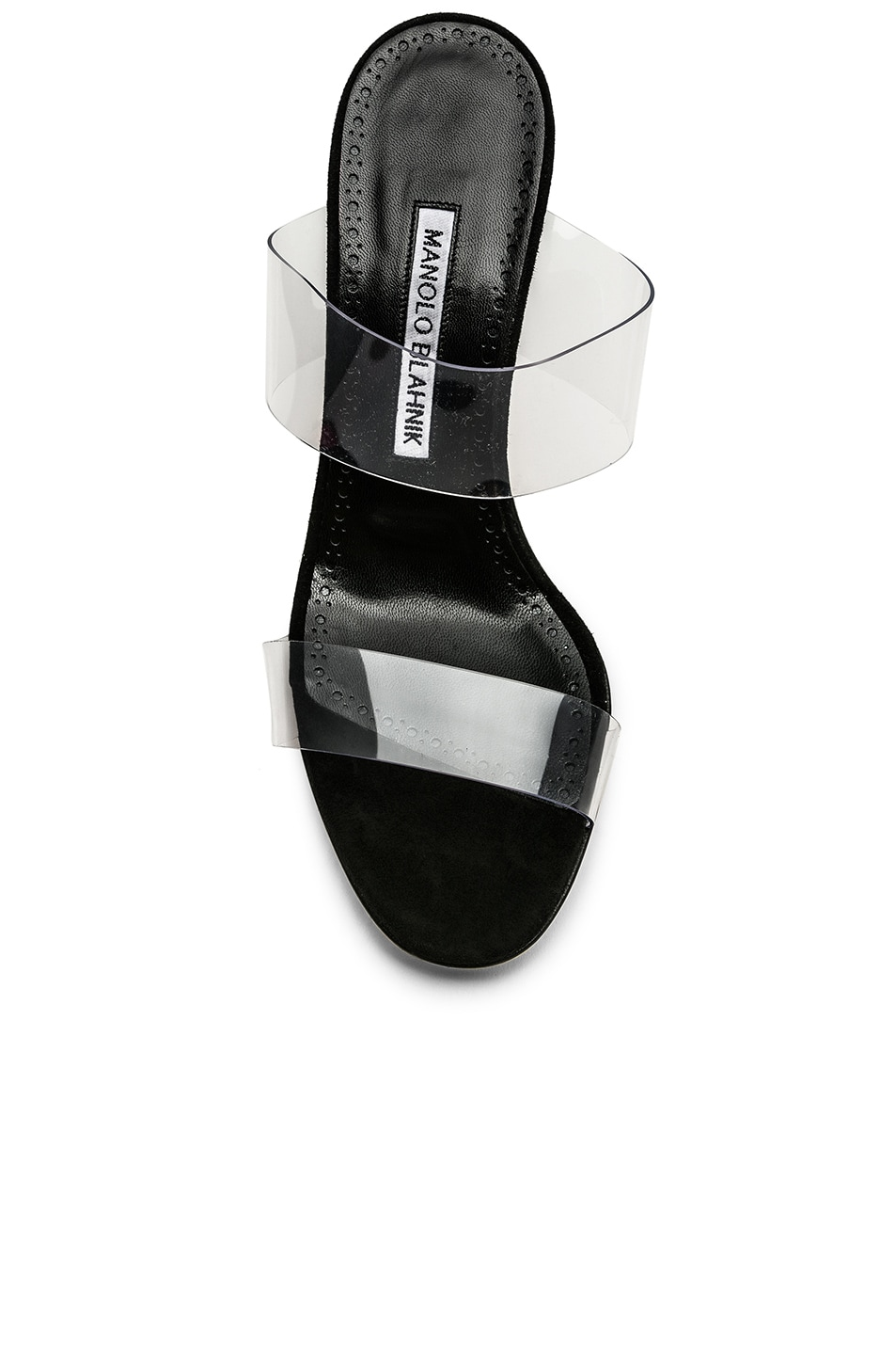 Image 4 of Manolo Blahnik PVC Scolto 90 Sandal in Black