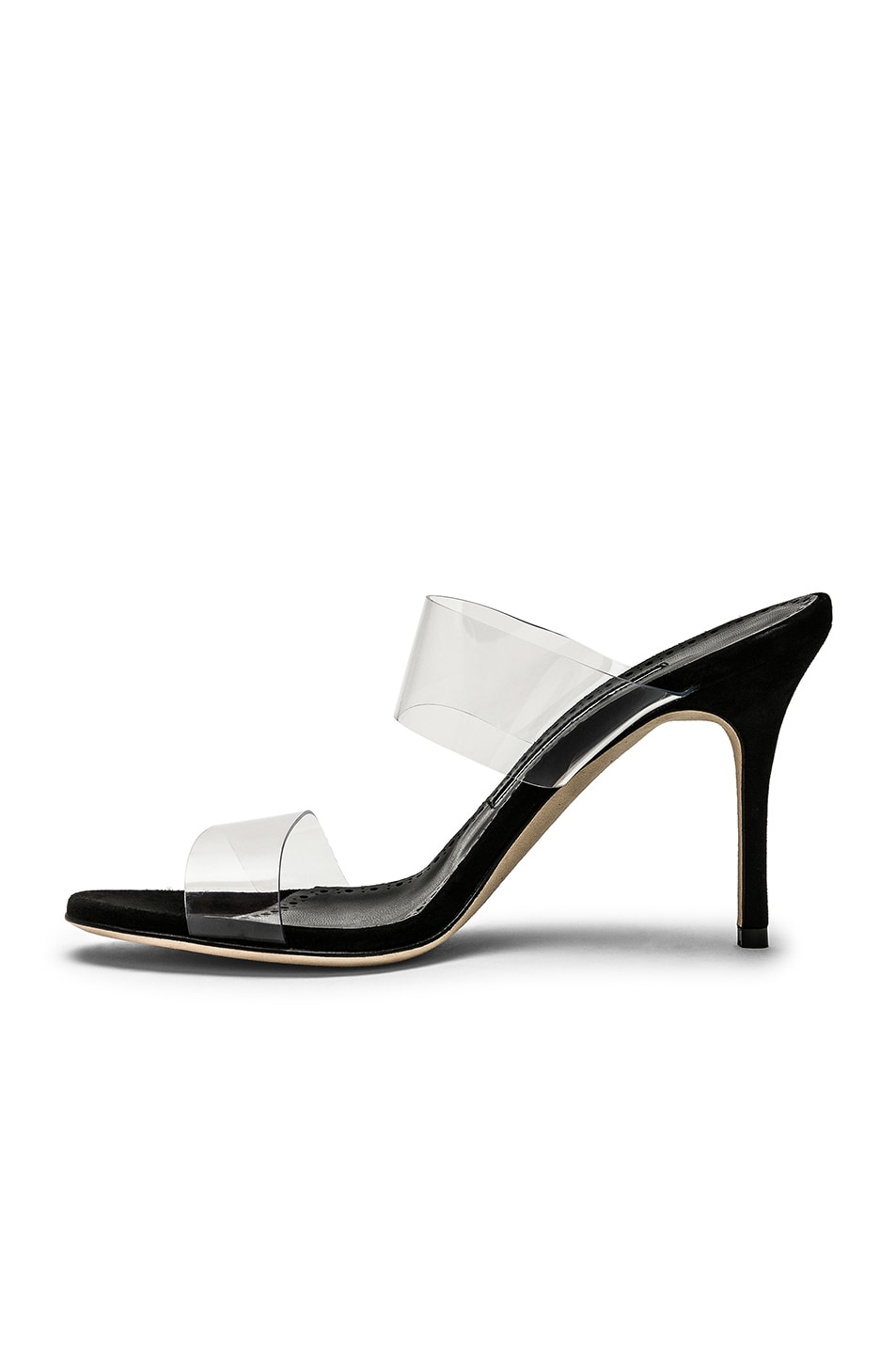 Image 5 of Manolo Blahnik PVC Scolto 90 Sandal in Black