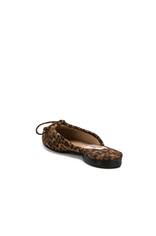 Image 3 of Manolo Blahnik Ballerimu Slide in Leopard Suede