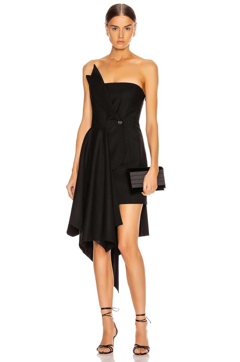 Image 1 of Monse Corset Dress in Black