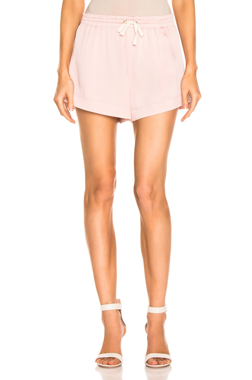 Image 1 of Monse Solid Boxer Short in Blush