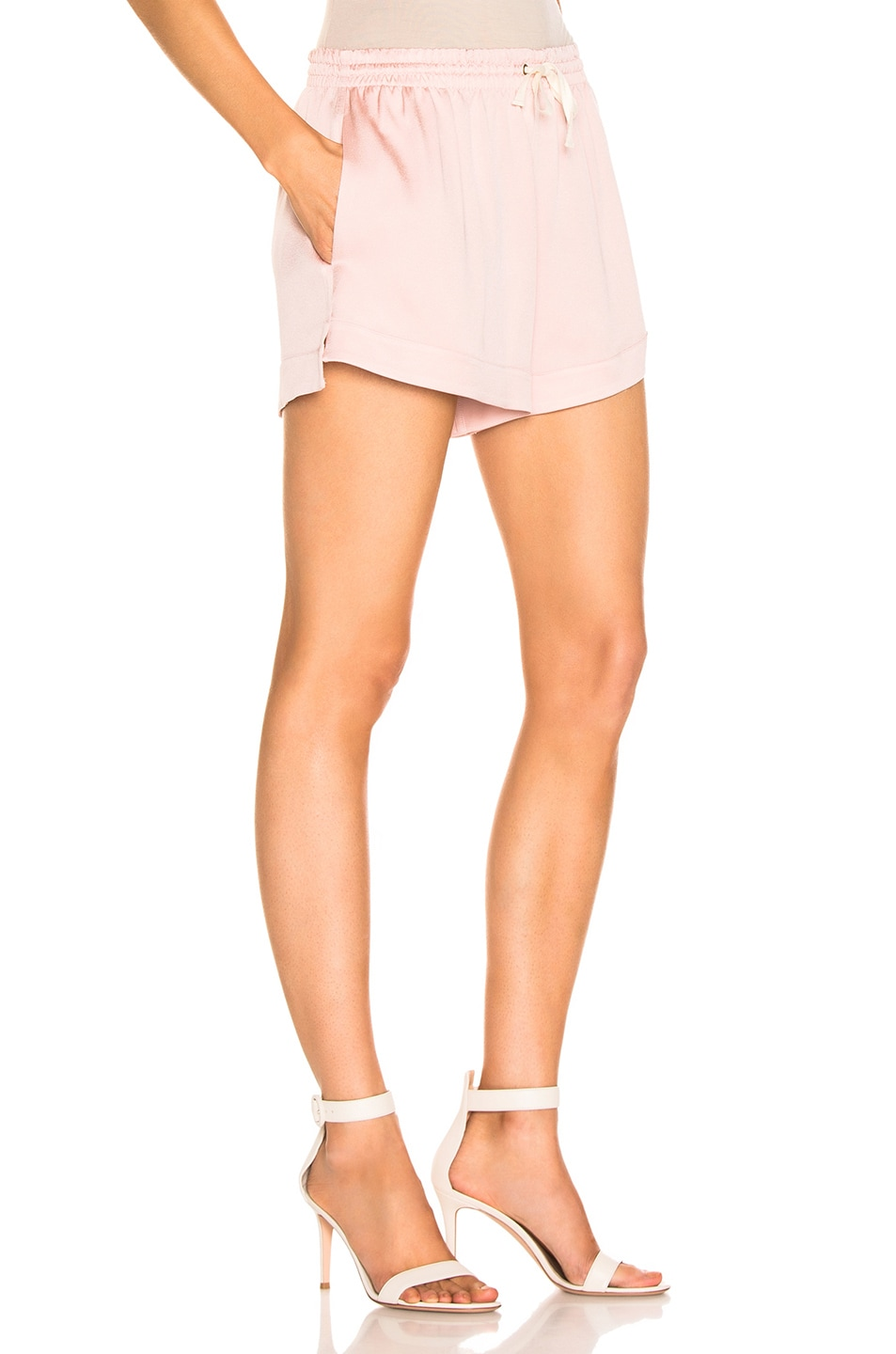 Image 2 of Monse Solid Boxer Short in Blush