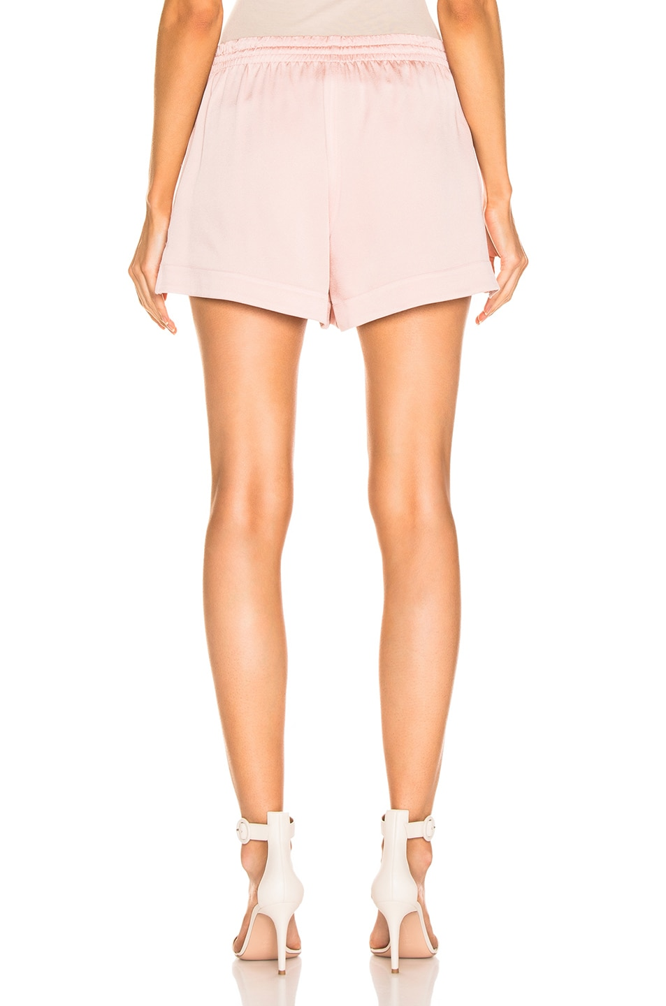 Image 3 of Monse Solid Boxer Short in Blush