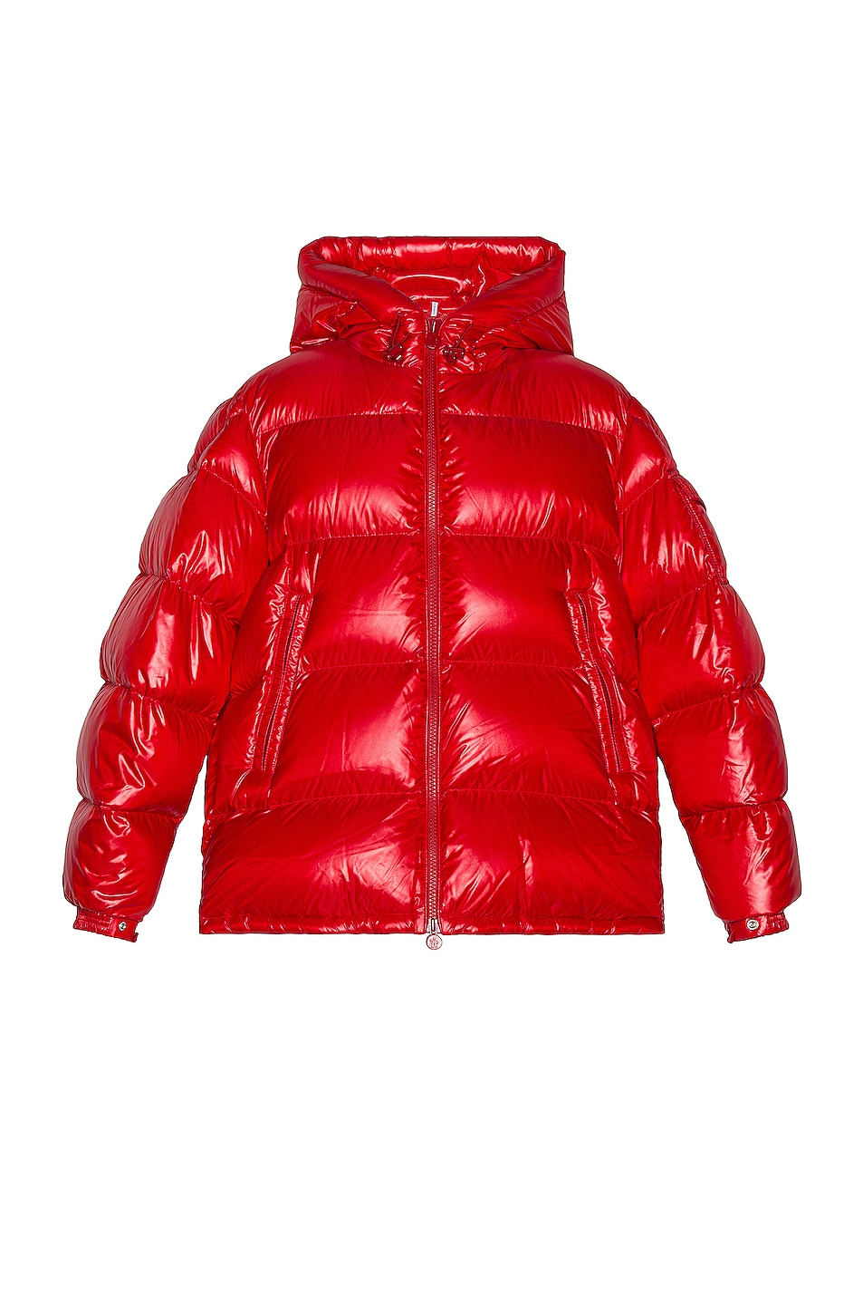Image 1 of Moncler Ecrins Puffer Jacket in Red
