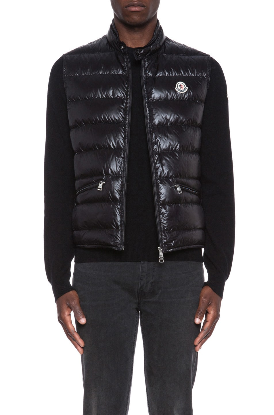 Image 1 of MONCLER Gui Polyamide Jacket in Black