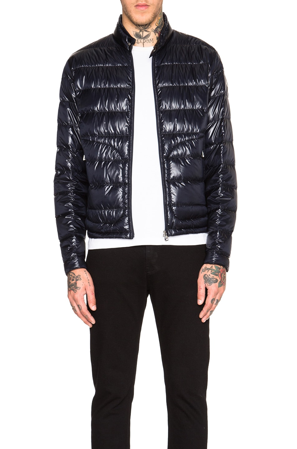 Moncler acorus jacket in black