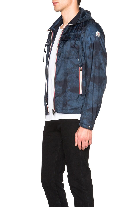 Moncler Lyon Navy Jacket