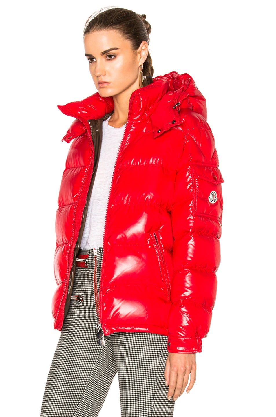 Image 3 of Moncler Maya Jacket in Red