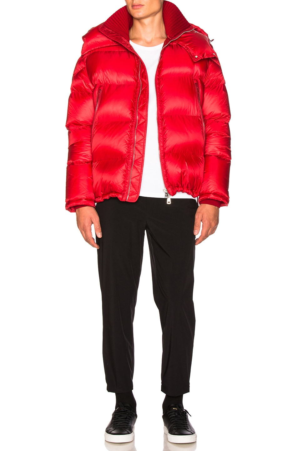 Image 5 of Moncler Pascal Jacket in Red