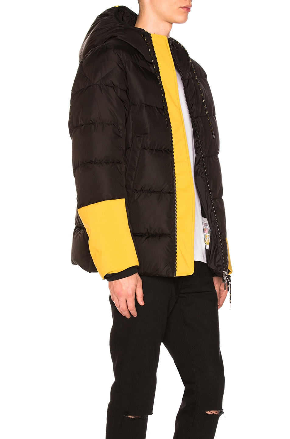 Image 3 of Moncler Drake Jacket in Black