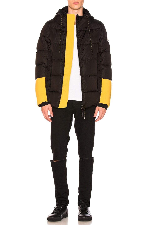 4393675a1 Moncler Drake Jacket in Black | FWRD