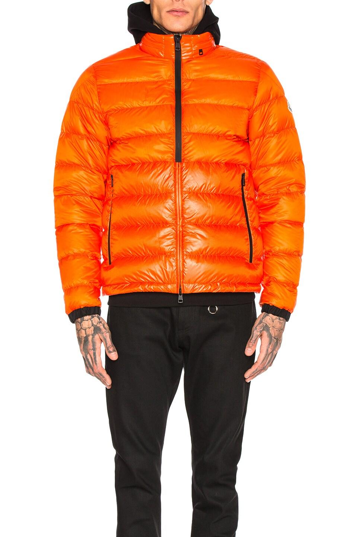 Image 2 of Moncler Puffer in Orange