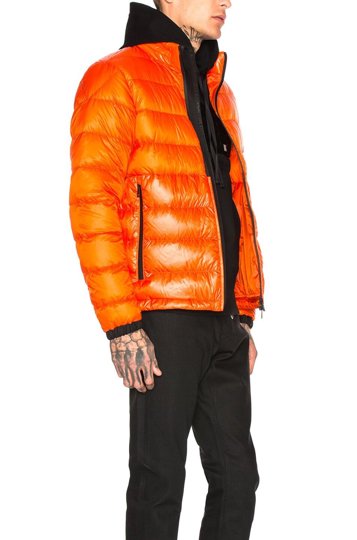 Image 3 of Moncler Puffer in Orange
