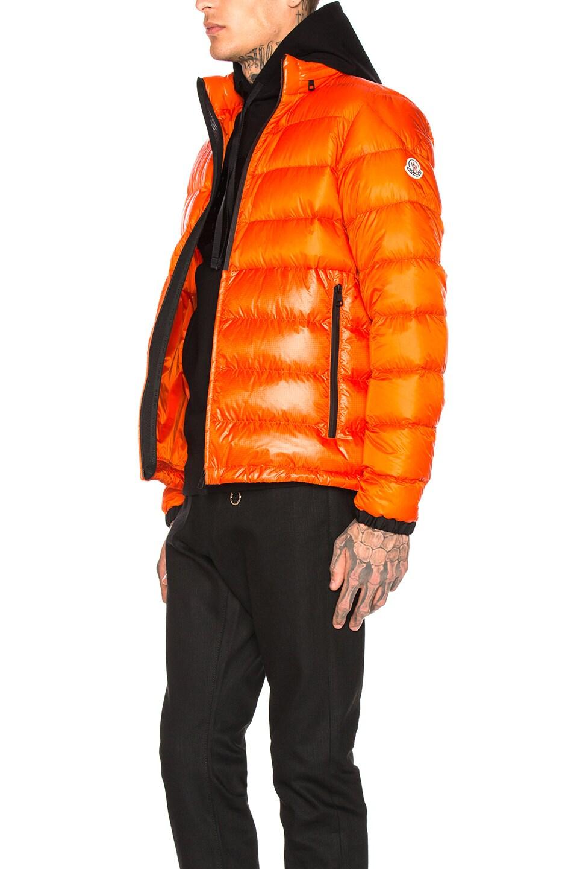 Image 4 of Moncler Puffer in Orange