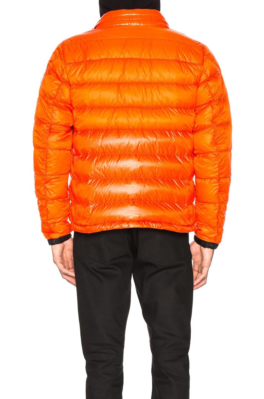 Image 5 of Moncler Puffer in Orange