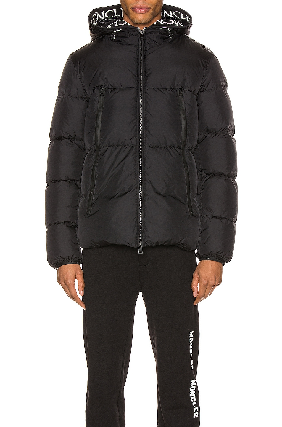 Image 1 of Moncler Montclar Jacket in Black