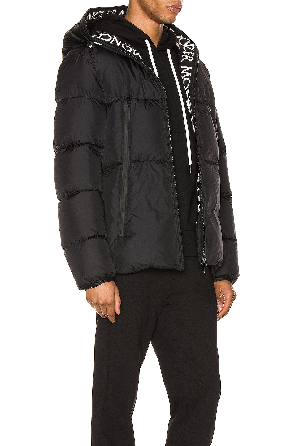 Image 3 of Moncler Montclar Jacket in Black