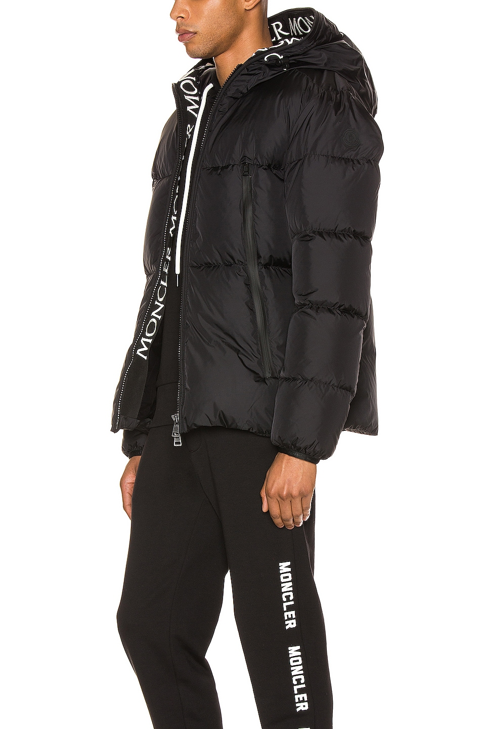 Image 4 of Moncler Montclar Jacket in Black