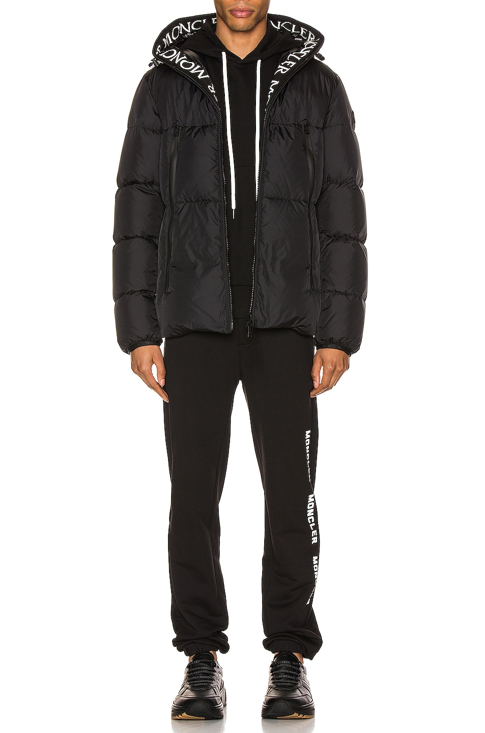 Image 6 of Moncler Montclar Jacket in Black