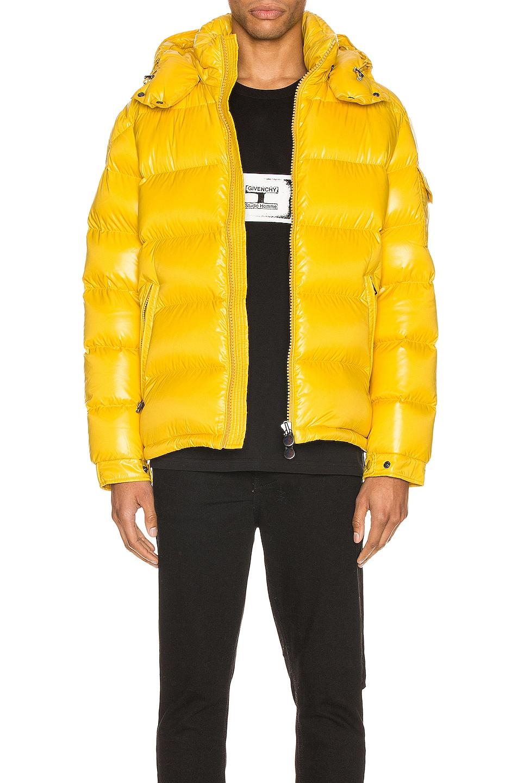 Image 1 of Moncler Maya Jacket in Yellow