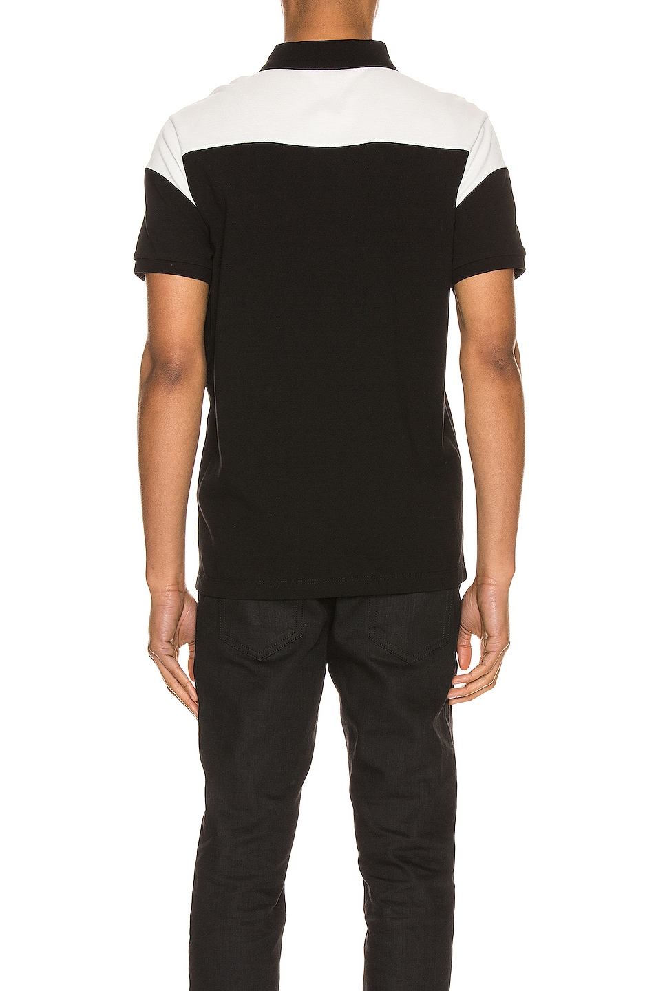 Image 3 of Moncler Polo in Black