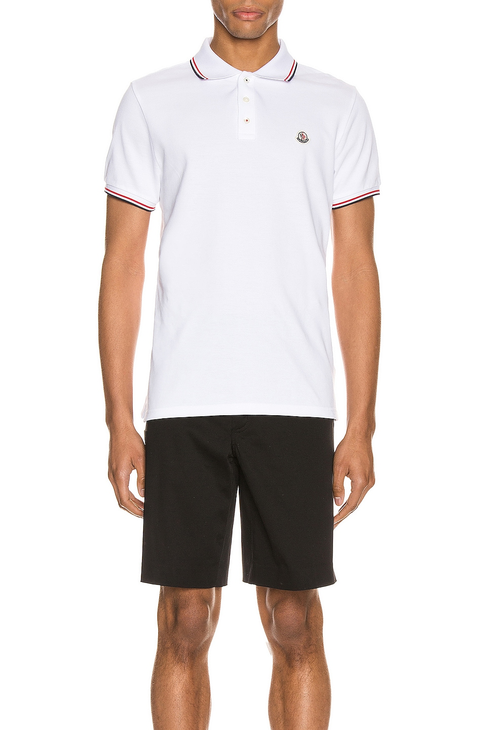 Image 1 of Moncler Polo in White
