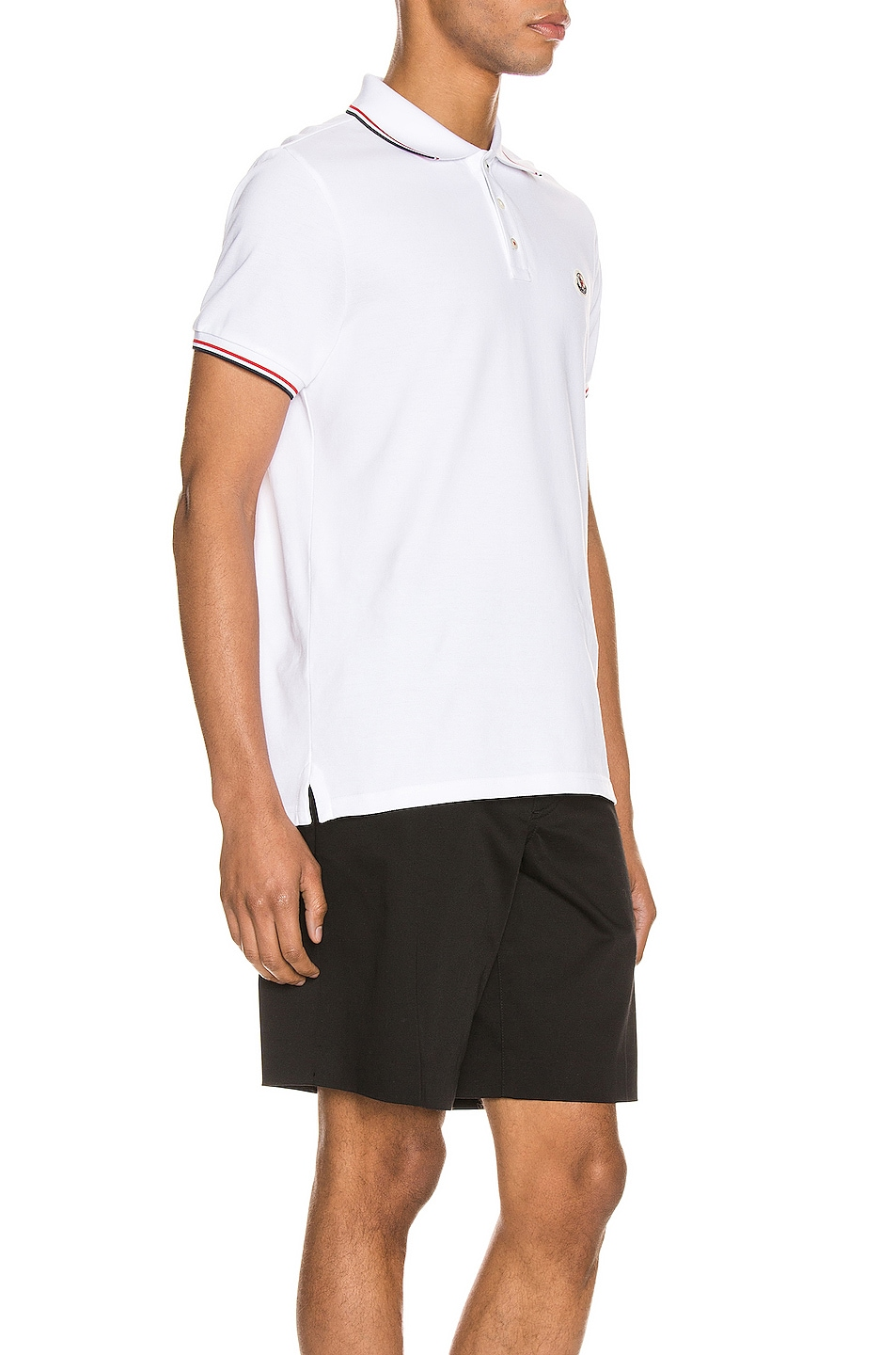 Image 2 of Moncler Polo in White