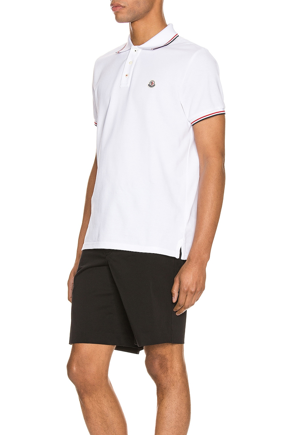 Image 3 of Moncler Polo in White