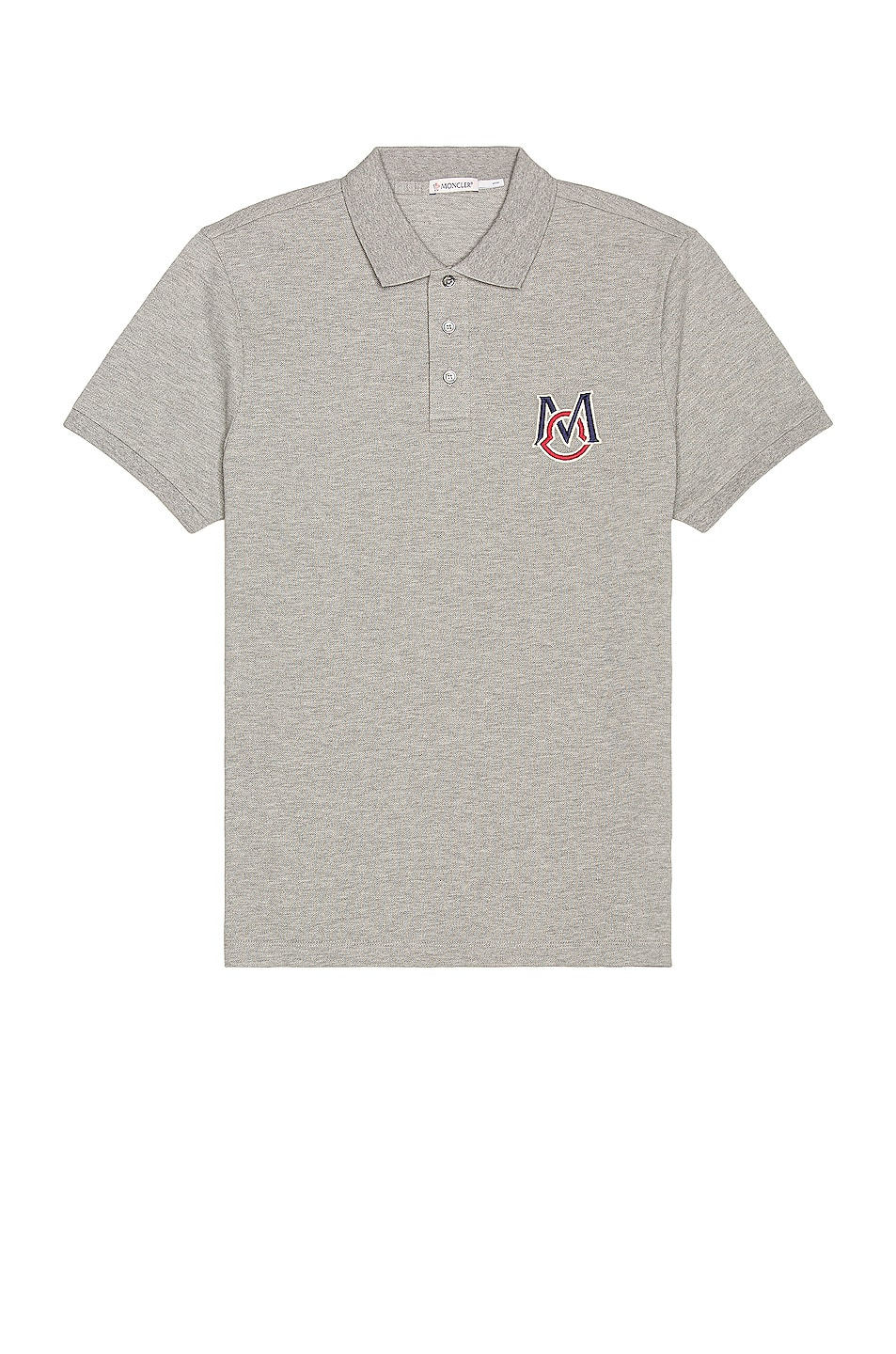 Image 1 of Moncler Polo in Grey