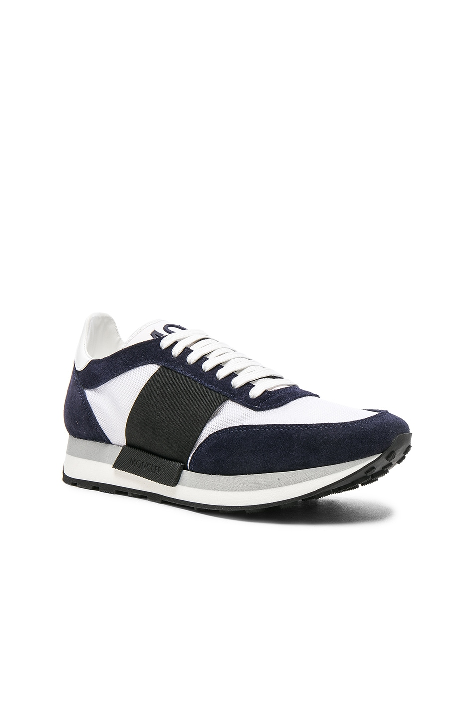 8a0d174fe Moncler Horace Sneakers in Navy   White