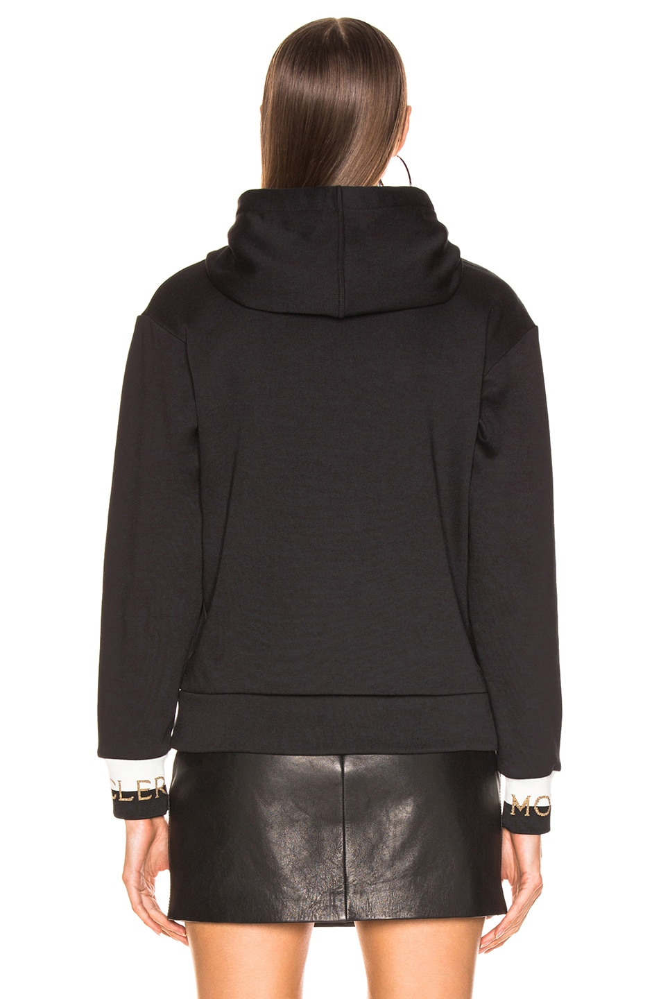 Image 4 of Moncler Logo Sweatshirt in Black