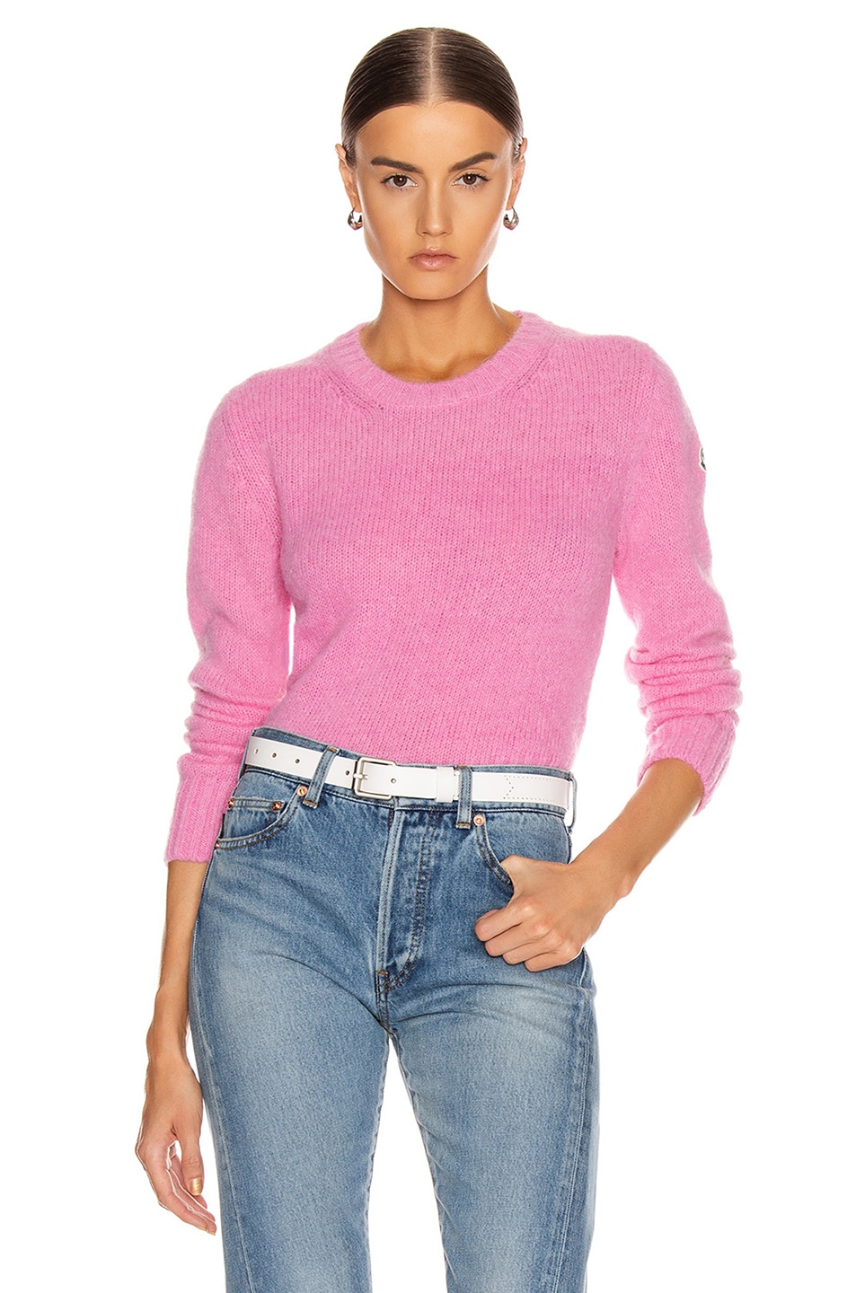 Image 1 of Moncler Tricot Sweater in Pink