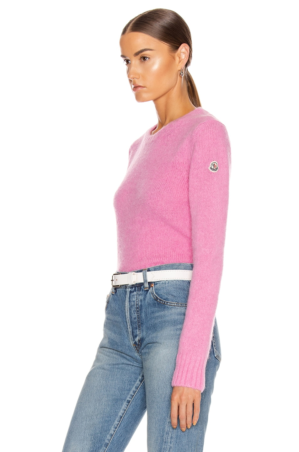 Image 3 of Moncler Tricot Sweater in Pink