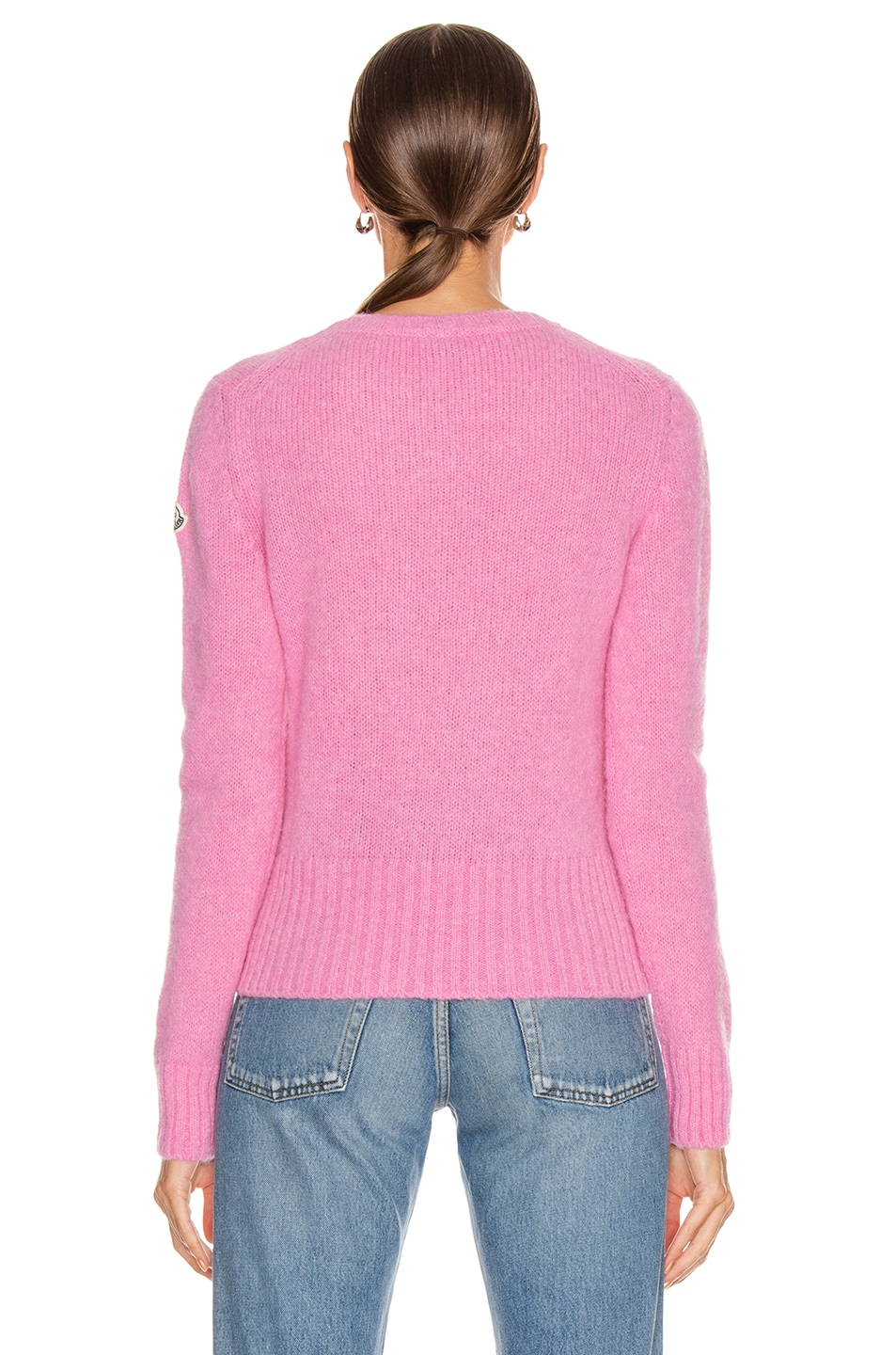 Image 4 of Moncler Tricot Sweater in Pink