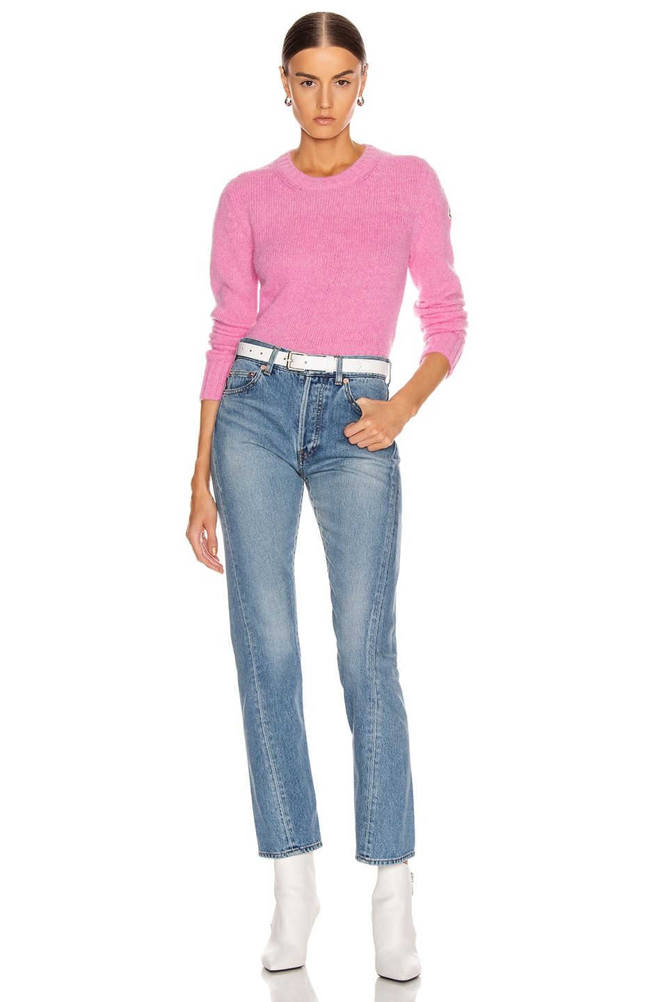Image 5 of Moncler Tricot Sweater in Pink