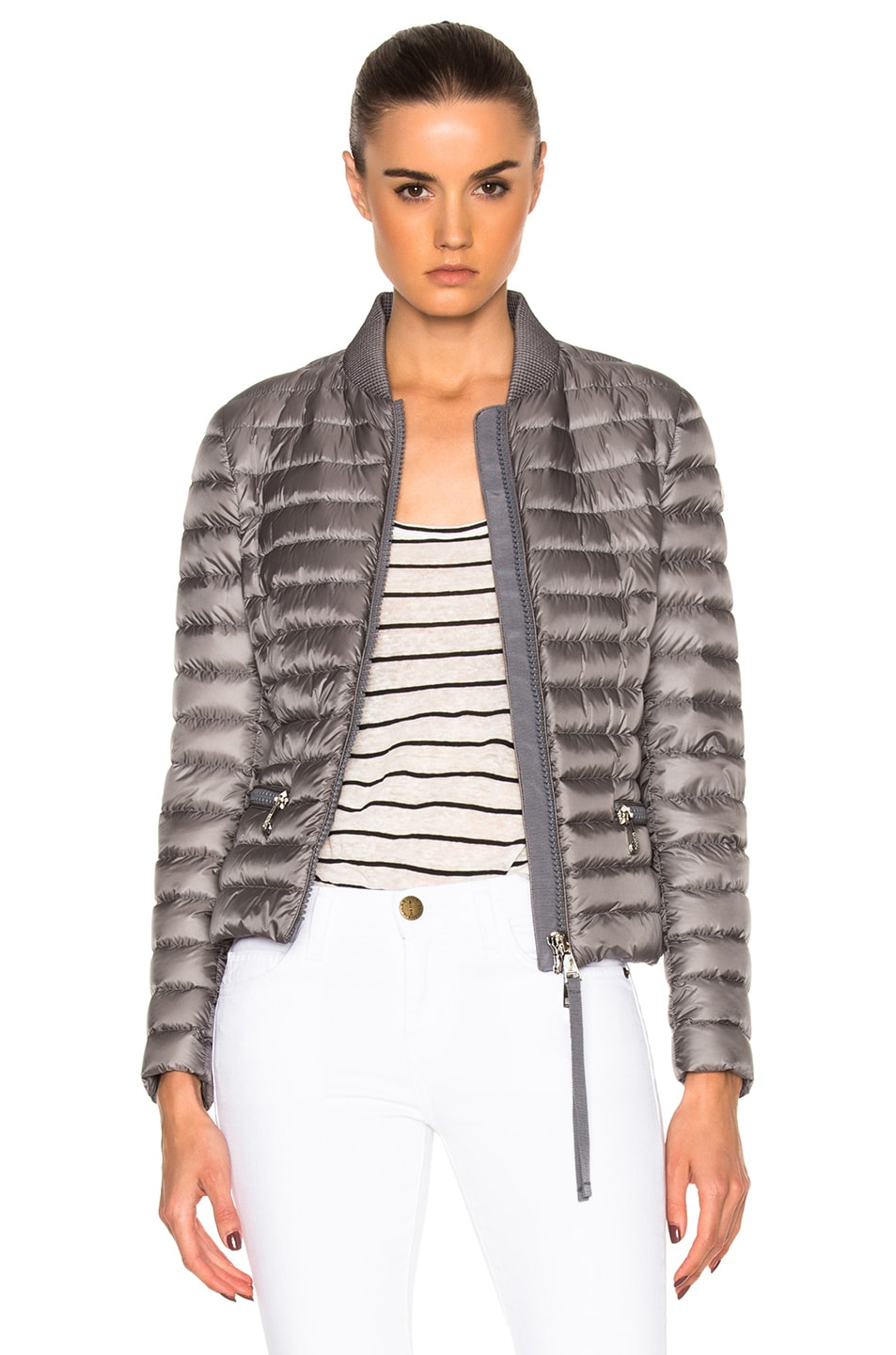 6d969468a Moncler Blen Jacket in Gray | FWRD