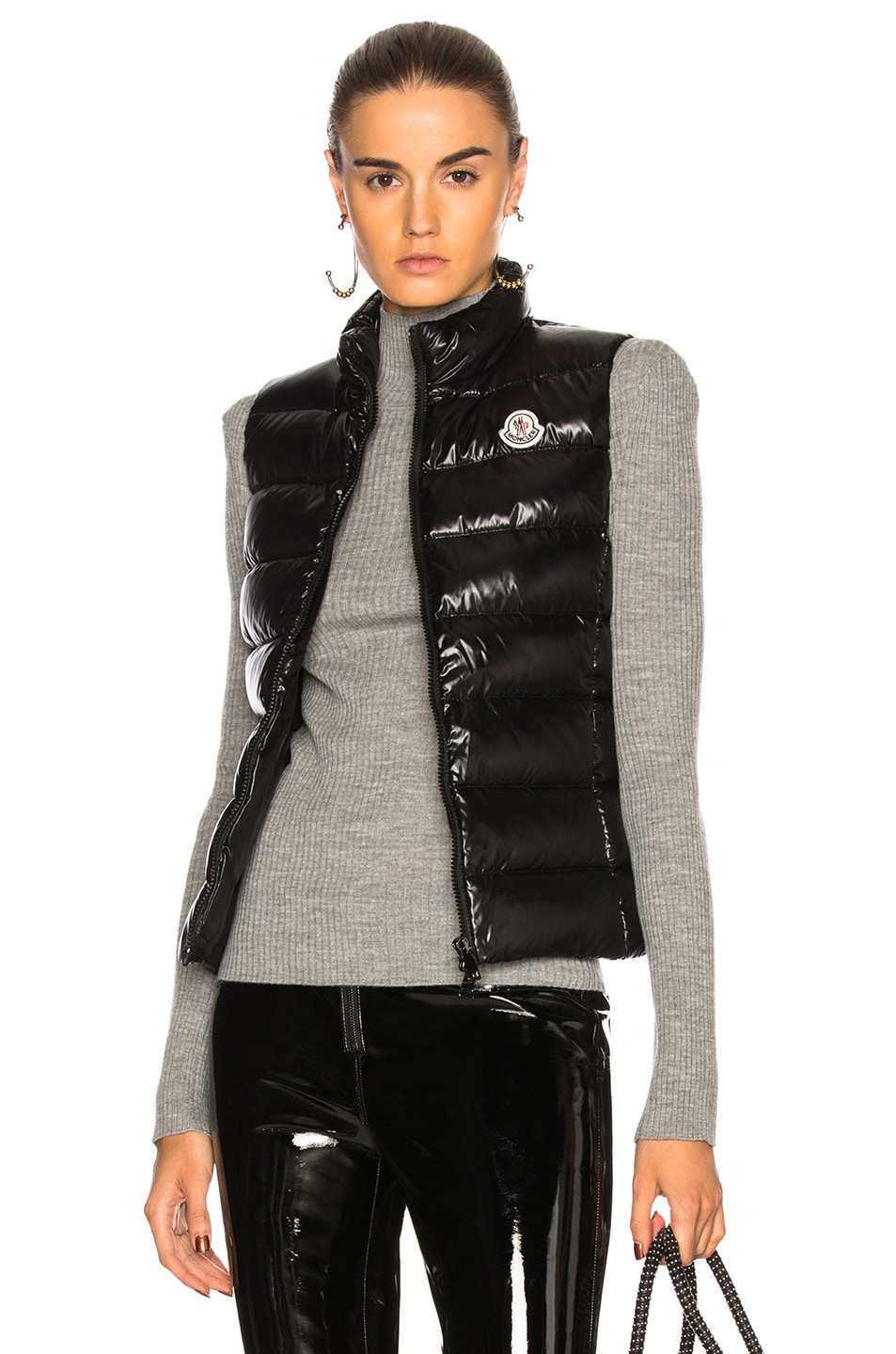 Image 1 of Moncler Ghany Gilet Vest in Black