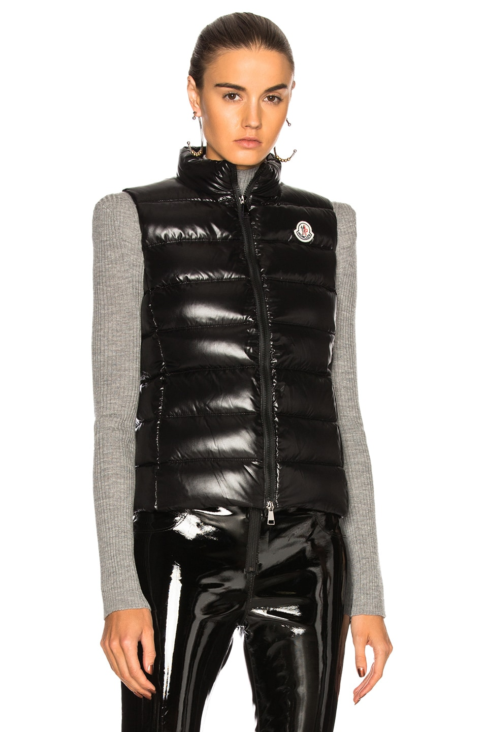 Image 2 of Moncler Ghany Gilet Vest in Black