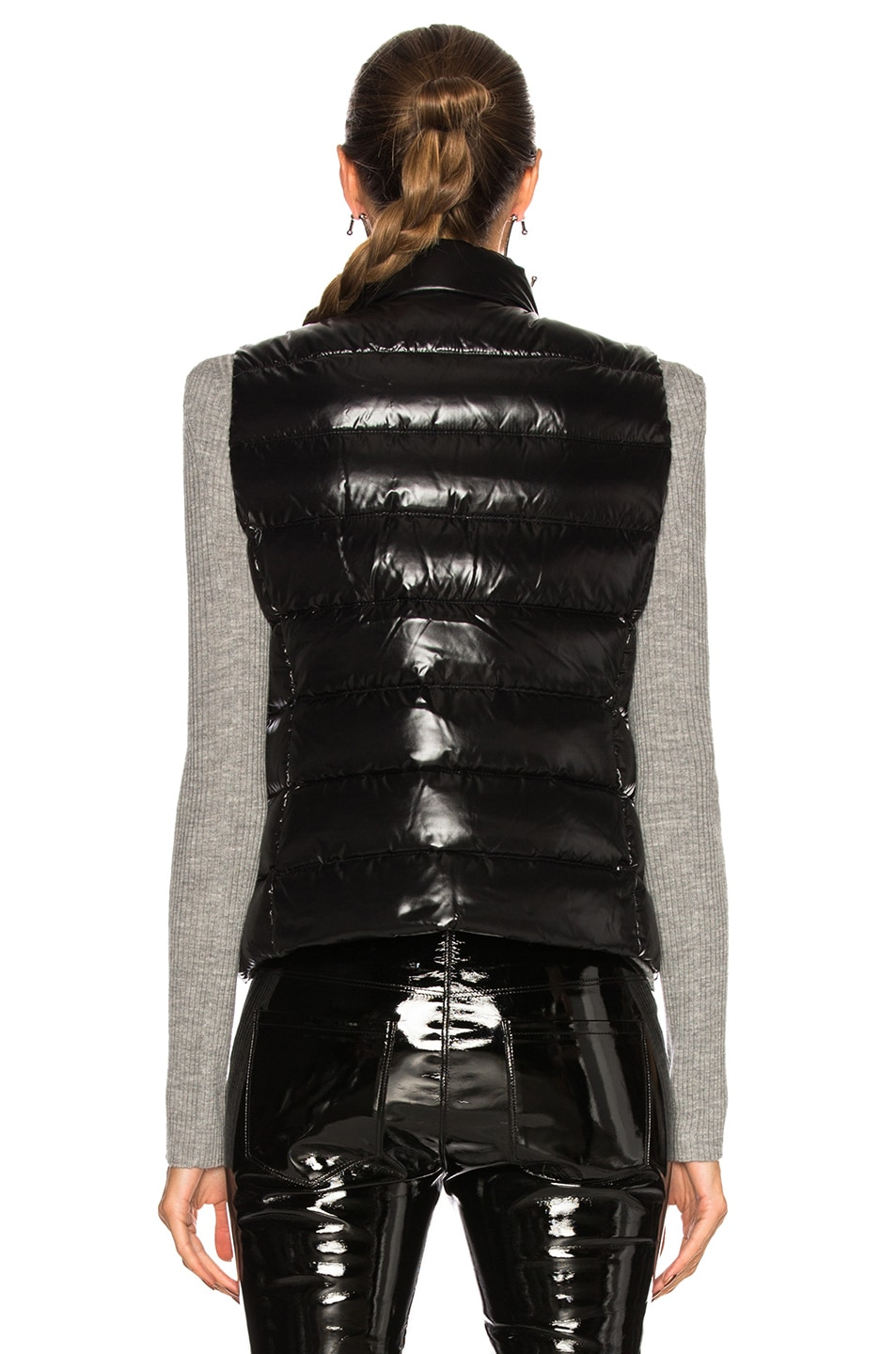 Image 4 of Moncler Ghany Gilet Vest in Black