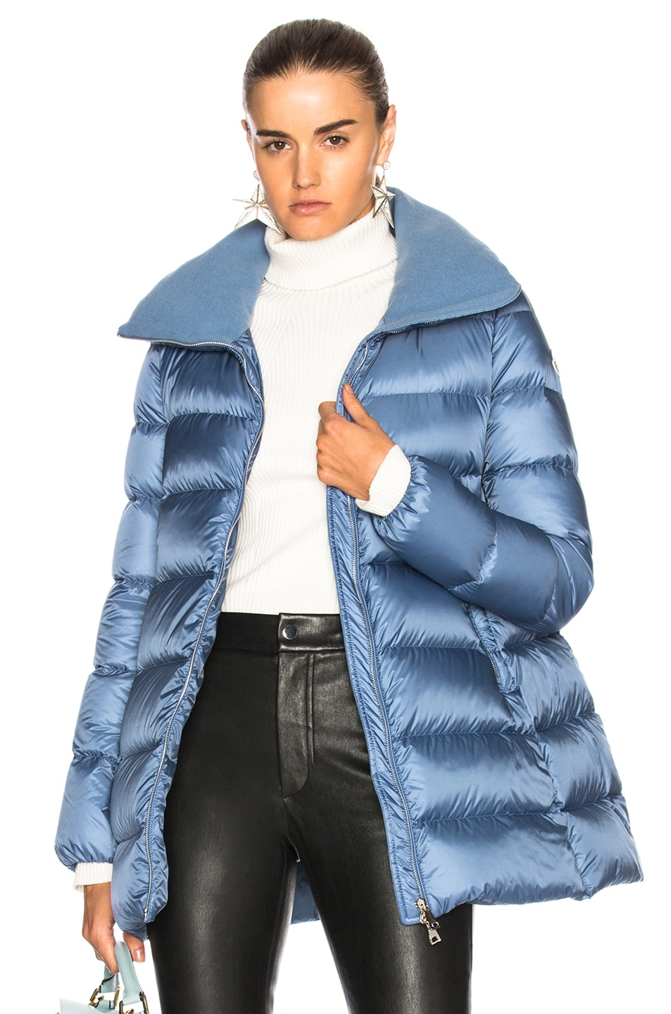 Image 1 of Moncler Torcyn Jacket in Blue