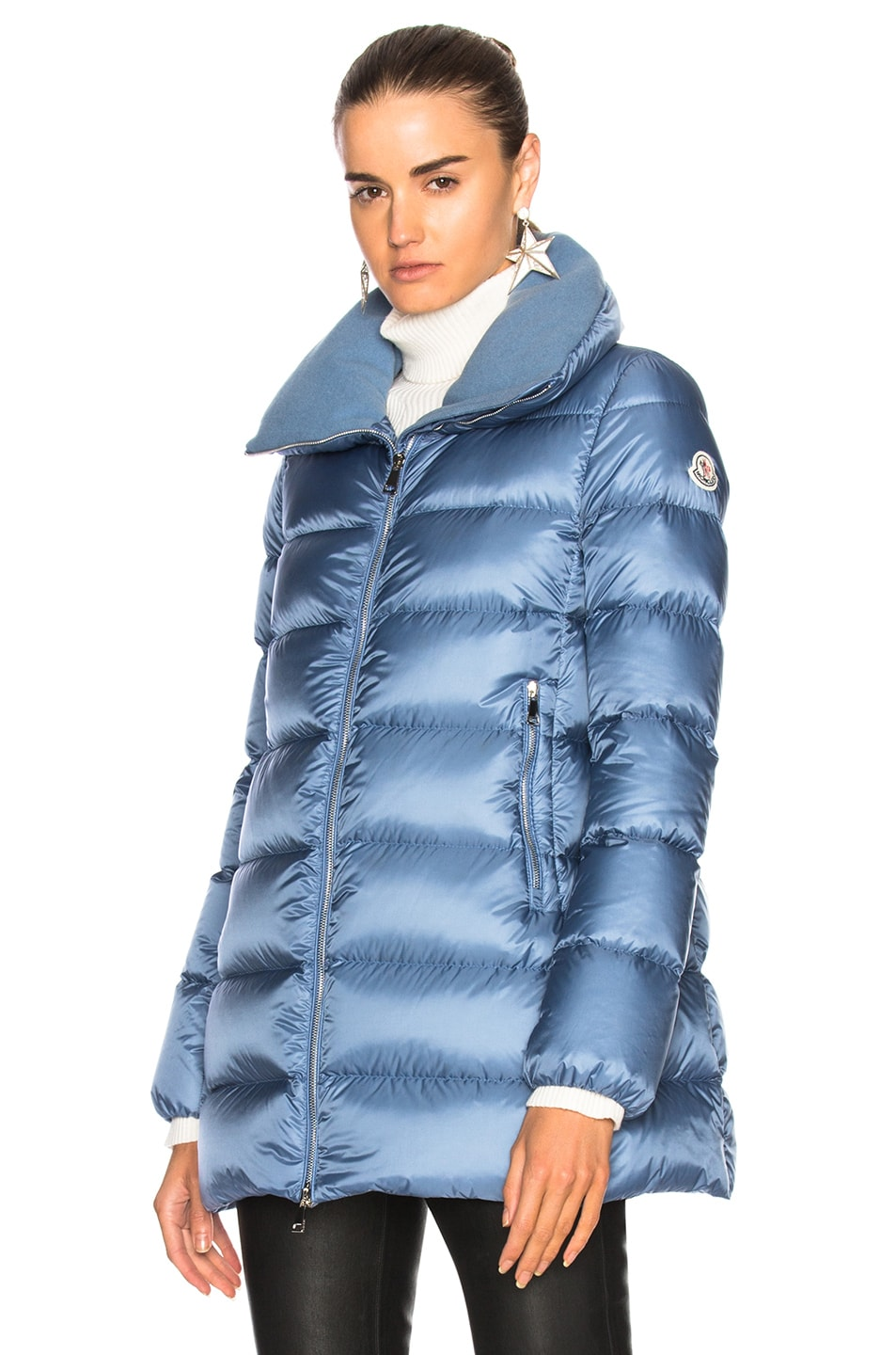 Image 2 of Moncler Torcyn Jacket in Blue