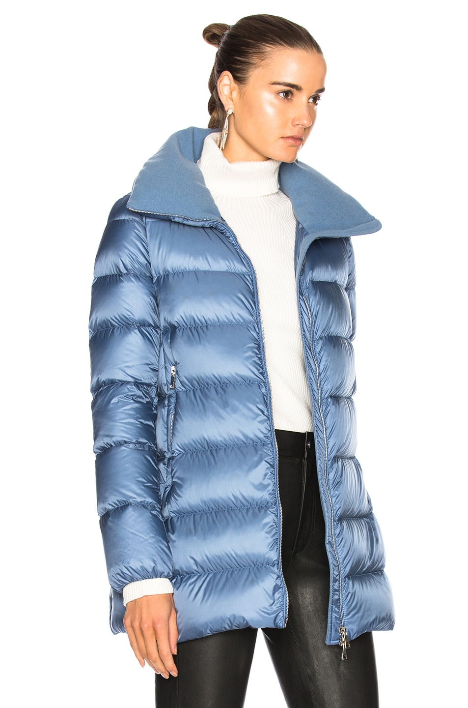 Image 3 of Moncler Torcyn Jacket in Blue