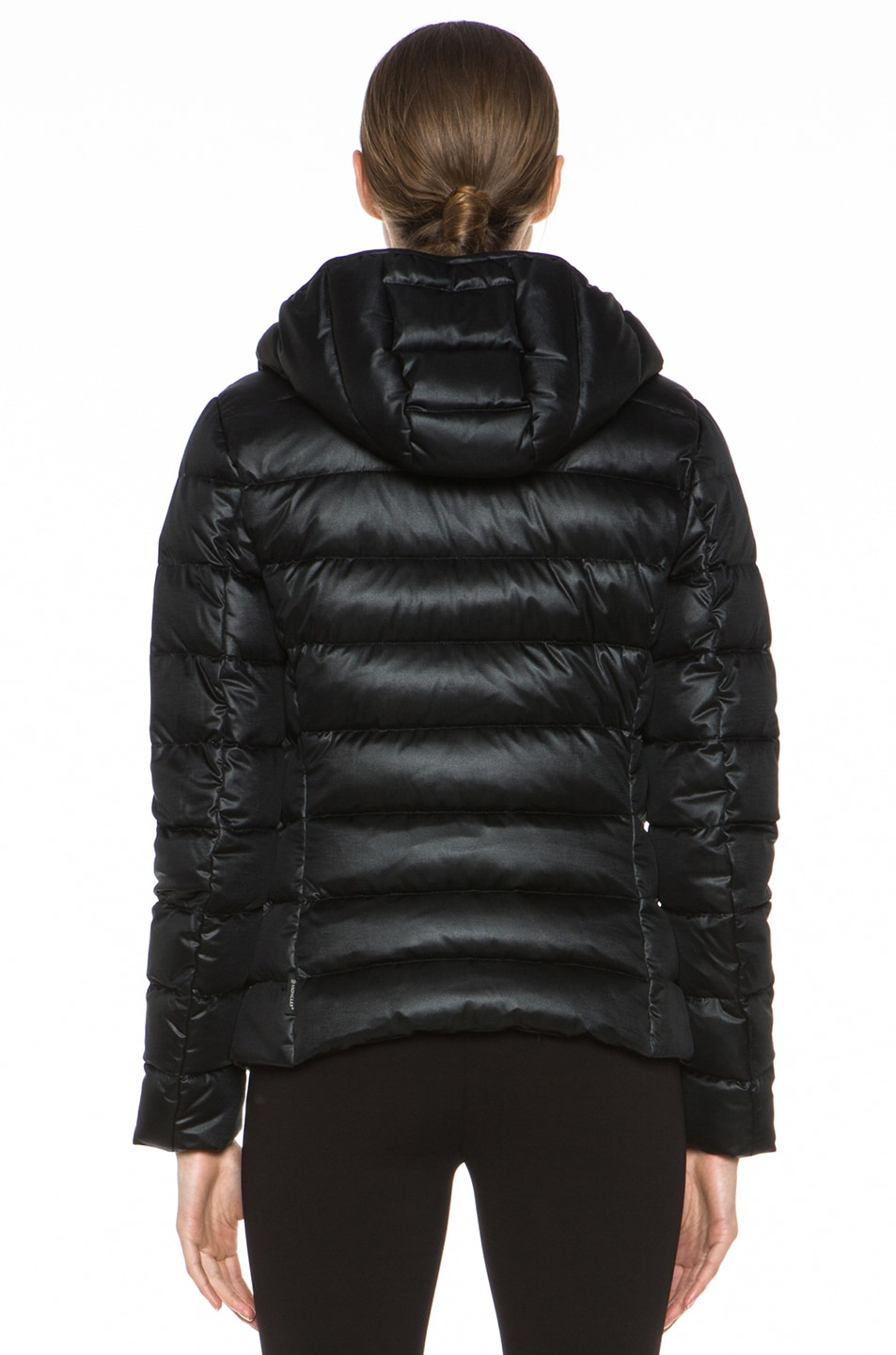 Image 5 of MONCLER Jersey Poly Jacket in Black