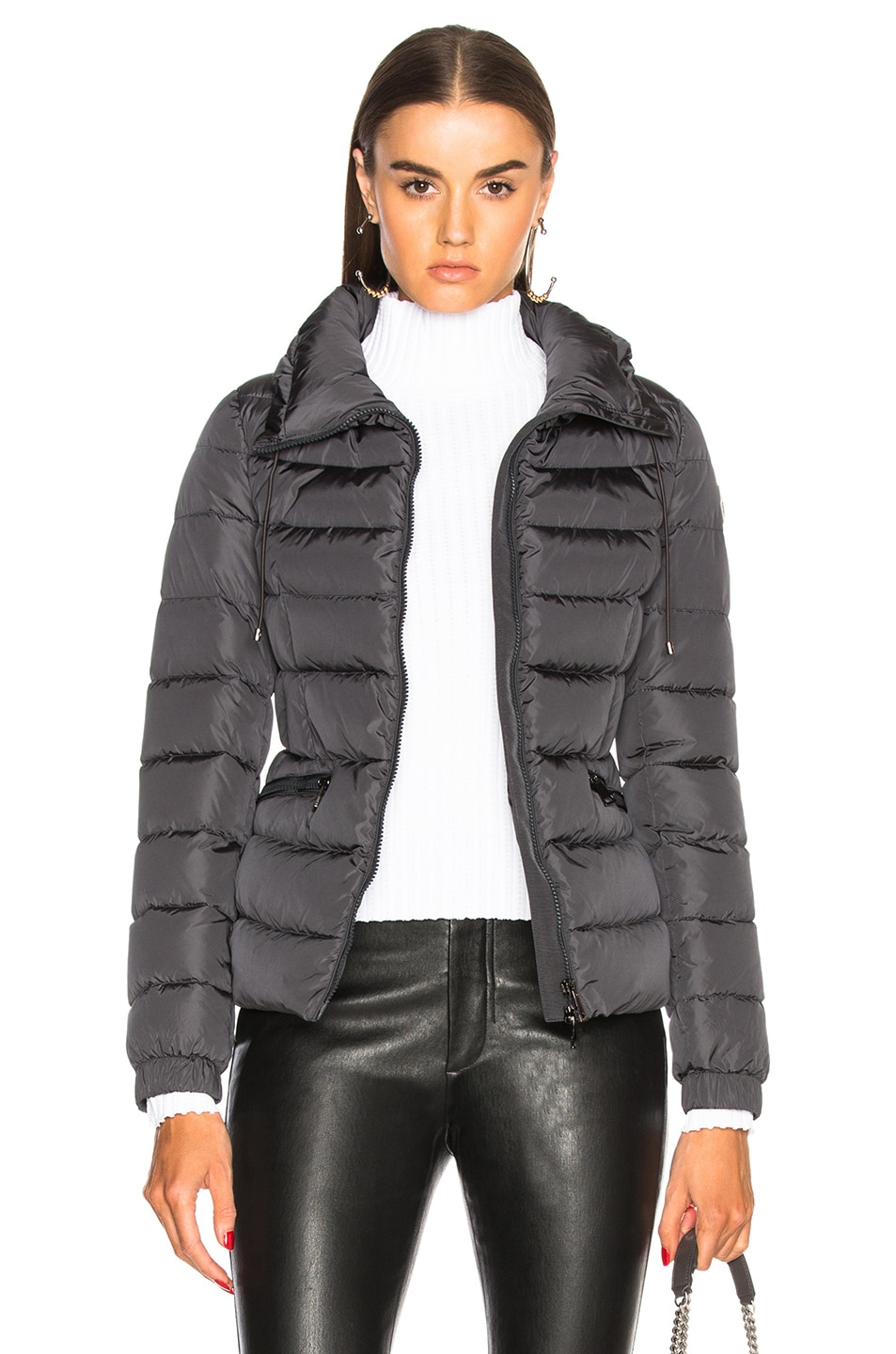 Image 1 of Moncler Irex Jacket in Charcoal