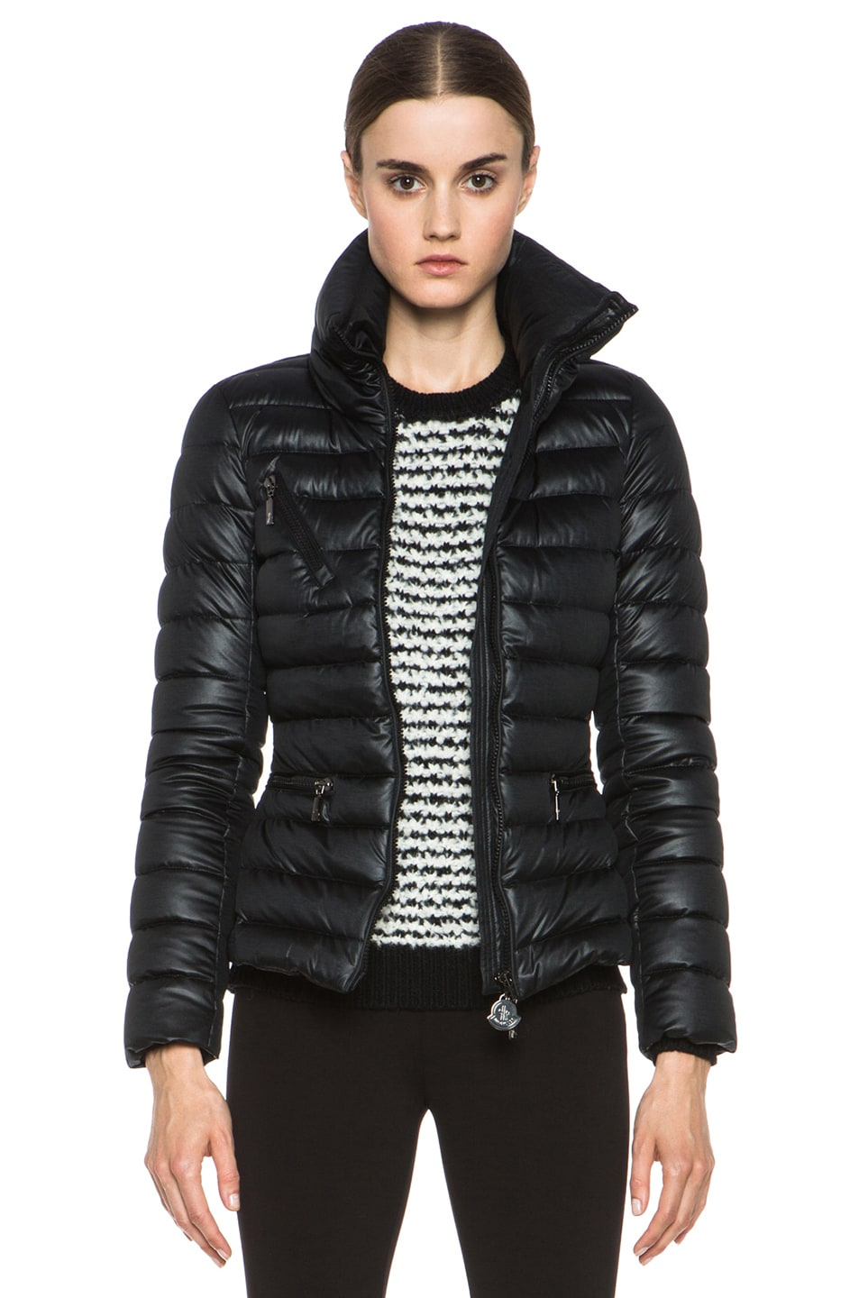 Image 1 of MONCLER Suisse Poly Jacket in Black