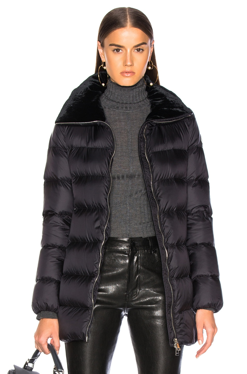Image 1 of Moncler Torcol Giubbotto Jacket in Black