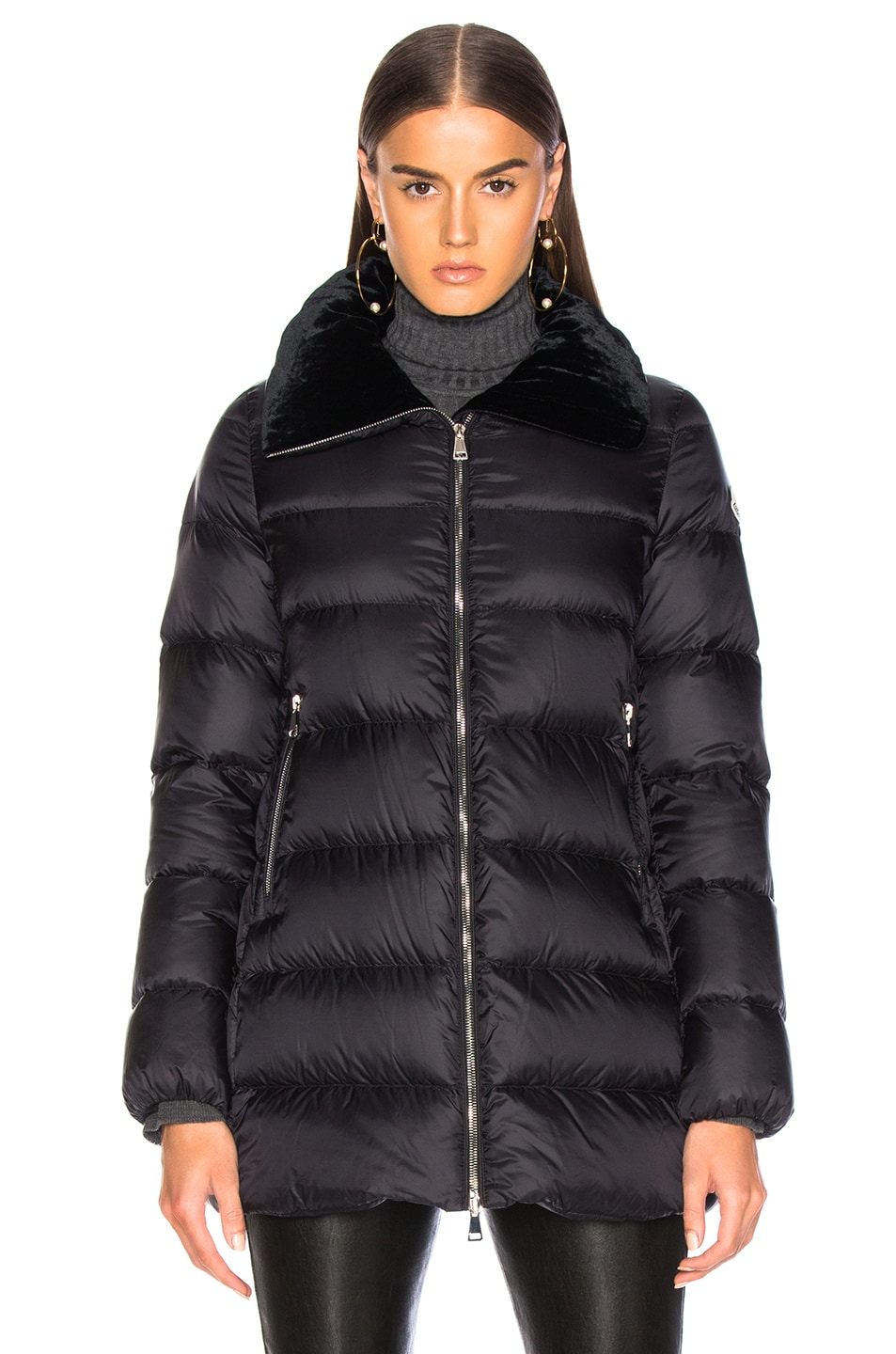 Image 2 of Moncler Torcol Giubbotto Jacket in Black