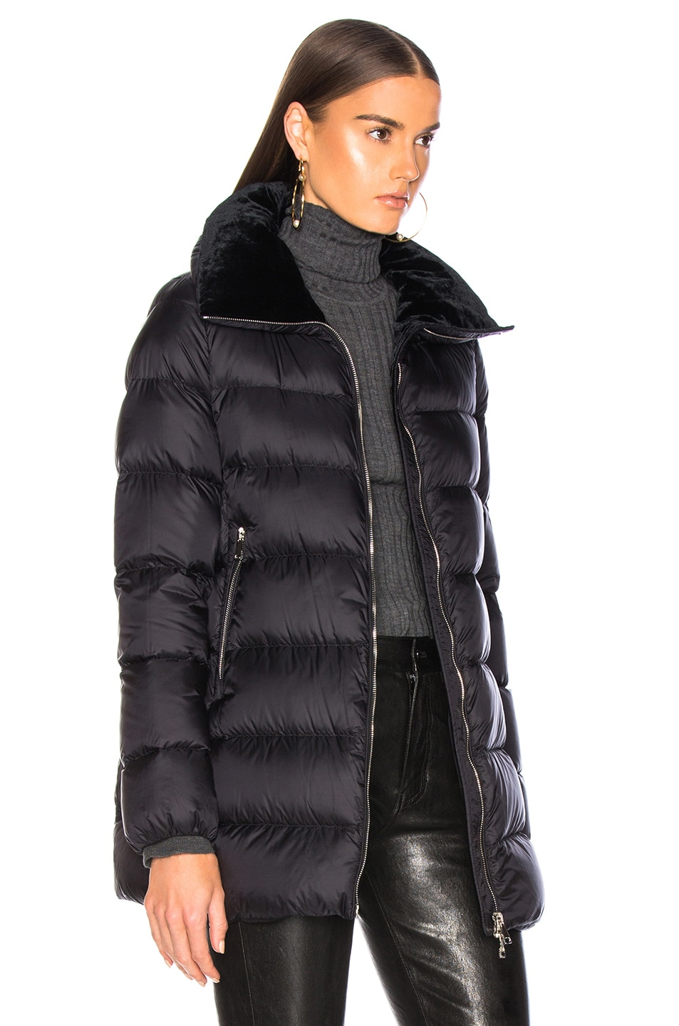 Image 3 of Moncler Torcol Giubbotto Jacket in Black